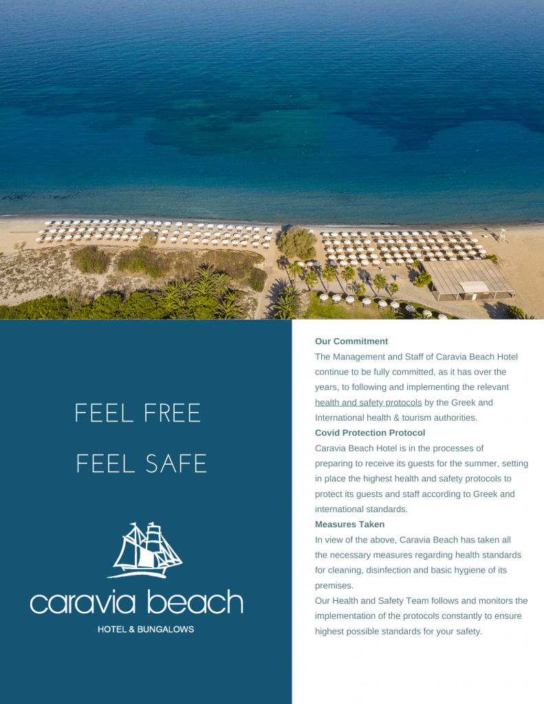 Caravia Beach Covid Protection Plan